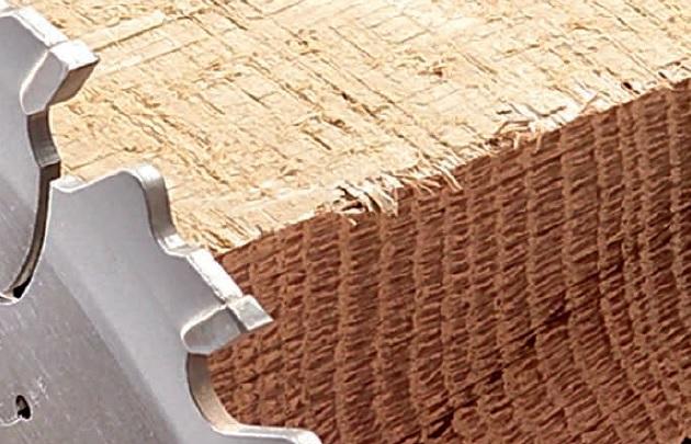 Дисковые пилы для пиленая массивной древесины