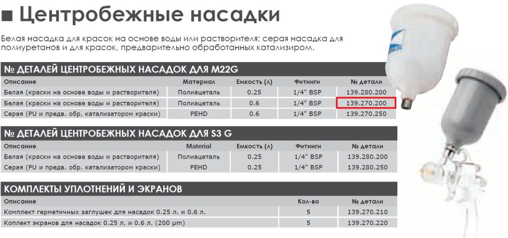 139.270.200_бачек насадка-06-л-для-пистолета-kremlin-rexon-sames